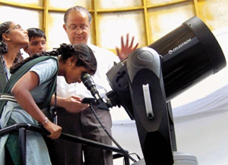 Students gearing up for space exploration