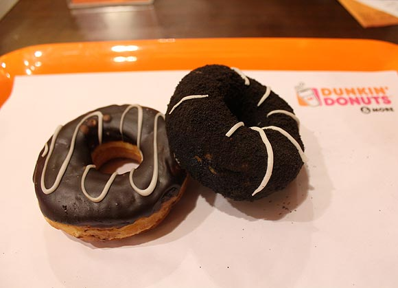 Revenge may be best served cold but the same doesn't apply to Dunkin's donuts