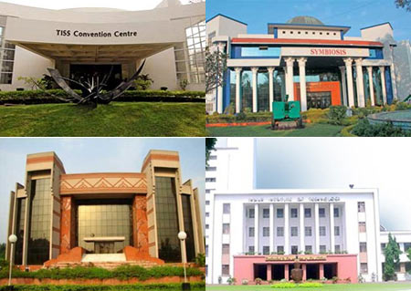 Best professional colleges of India 2012