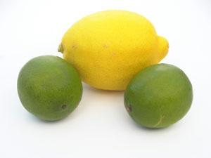 4. Sucking on lemons