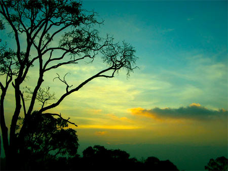 Sunset at Yercaud
