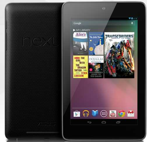 Google's first tablet Nexus 7.