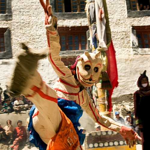 Mask Dance Festival at Karsha