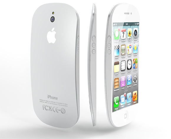 iPhone 5 concept design by Italian designer Federico Ciccarese