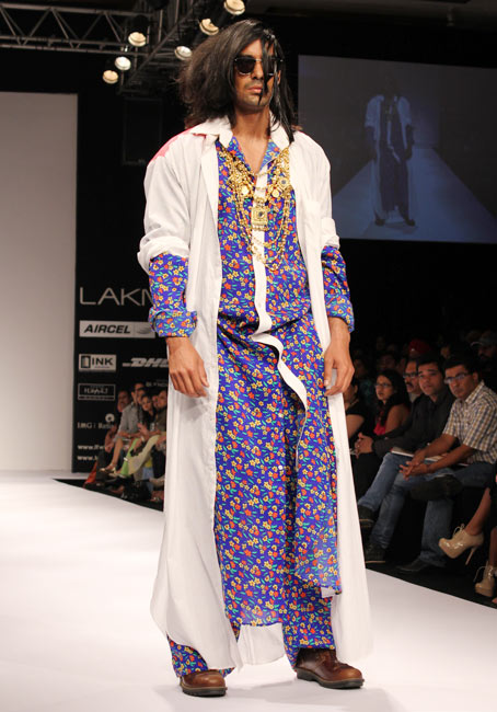 Tanya Sharma's Gaga collection had instant visual appeal