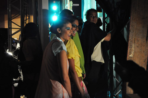 EXCLUSIVE PICS: Backstage at Lakme Fashion Week!
