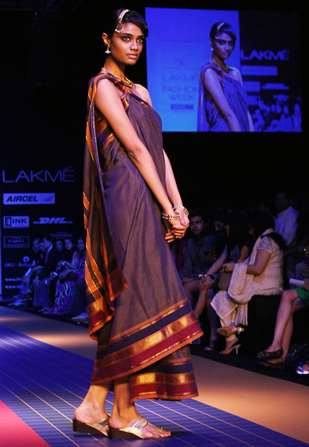 IN PICS: Seductive village belles walk the ramp!