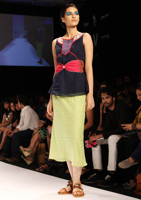 PIX: Priyadarshini goes cool, trendy, colourful at Lakme
