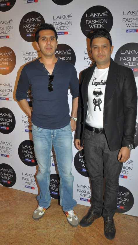Ritesh Sidhwani with Bhushan Kumar