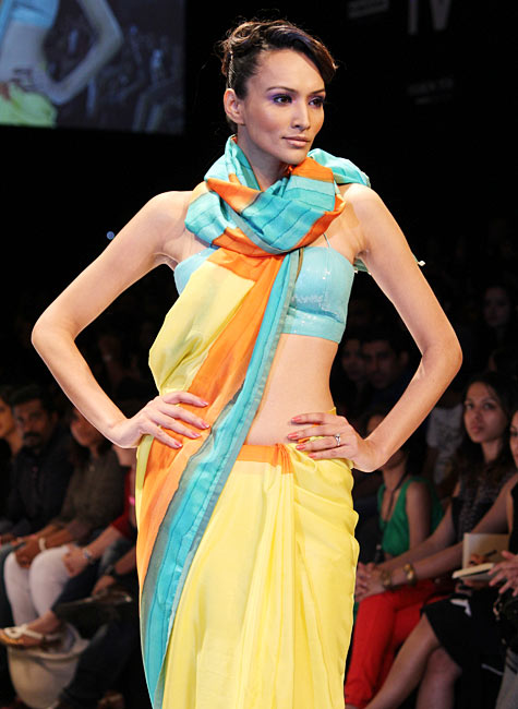 Dipannita Sharma presents an Anita Dongre's creation