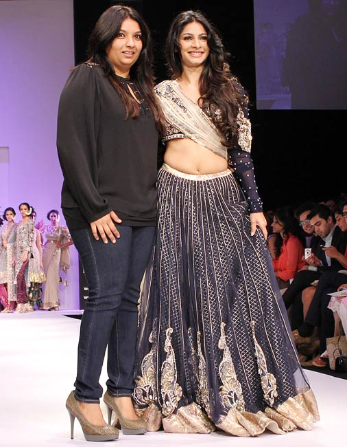 HOT PICS: Tanisha turns up the heat on the catwalk