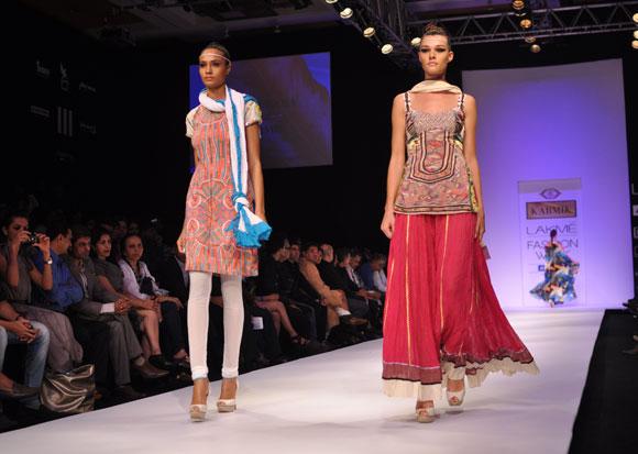 A Rina Dhaka creation showcased as part of Karmic