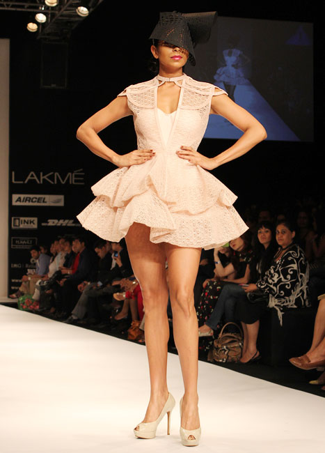 STUNNING PICS: Ankita Shorey does an Angelina? Almost!