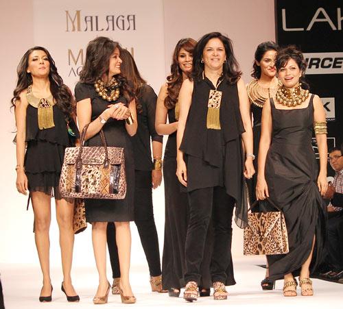 HOT PICS: Vidya, Mia, Maria turn up the heat at LFW