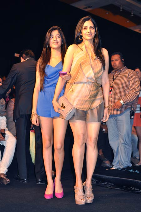 Jhanvi and Sridevi