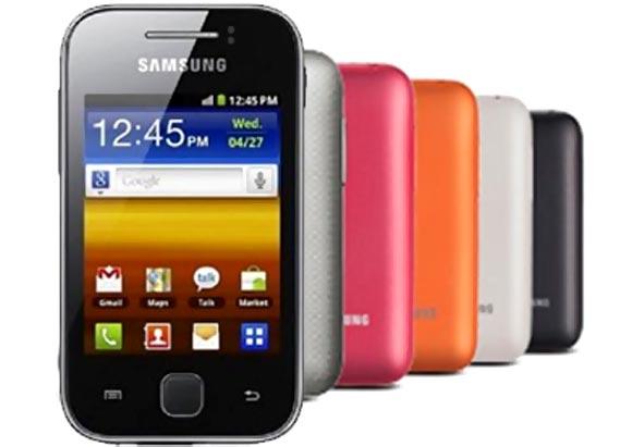 Samsung Galaxy Y Color Plus
