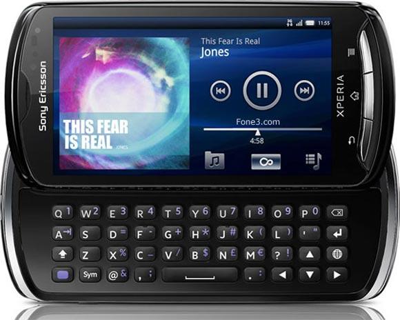 Sony Ericsson Xperia Pro Red