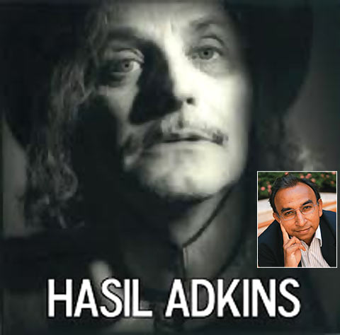 Hasil Adkins; (inset) Prakash Iyer