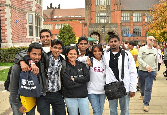 Over 214 Indian students study at Newcastle University in the UK