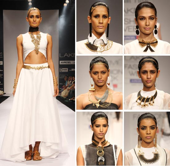 Pittie's collection at Lakme Fashion Week Summer-Resort 2012