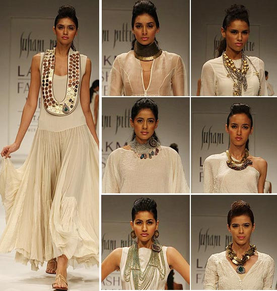Suhani Pittie's collection at Lakme Fashion Week Summer-Resort 2010