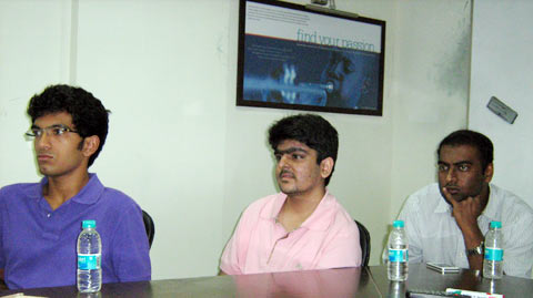 Students attend an In-V-Ent-Ed presentation