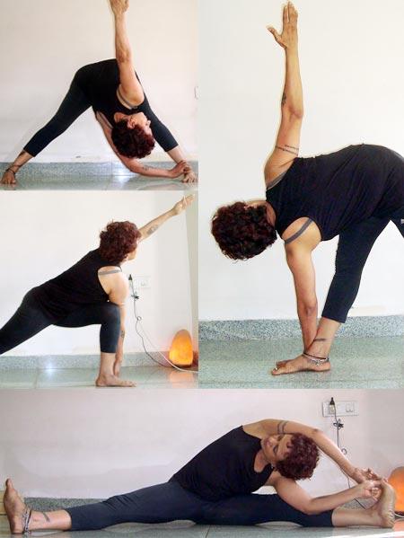 in pics five yoga poses for women rediff getahead
