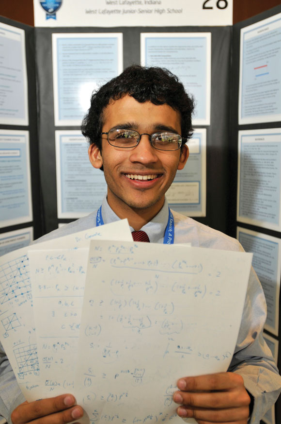 Anirudh Prabhu demonstrated that odd perfect numbers, which equal the sum of every number they can be cleanly divided by, have a lower limit