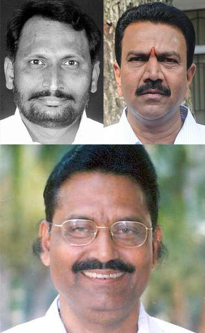 Laxman Savadi, CC Patil and Krishna Palemar