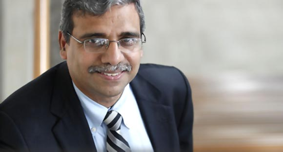 Dr Dipak Jain, dean of INSEAD, France and Singapore