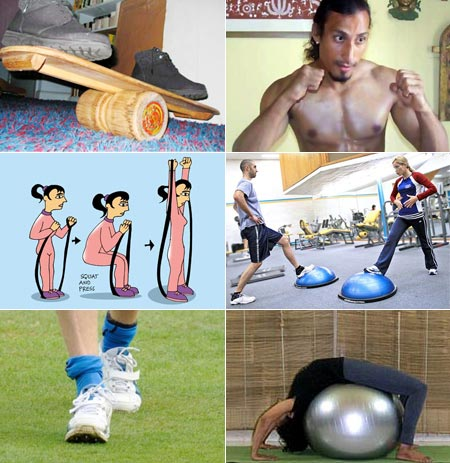 Ten ways to get fit WITHOUT going to the GYM