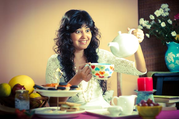 Snigdha Manchanda is  <i>always</i> as excited as this when she's around teas.