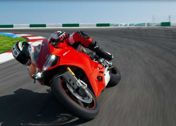 IN PICS: The STUNNING Ducati 1199 Panigale