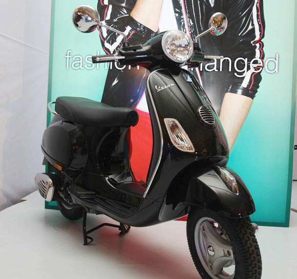 Vespa LX 125: Haute couture on two wheels?