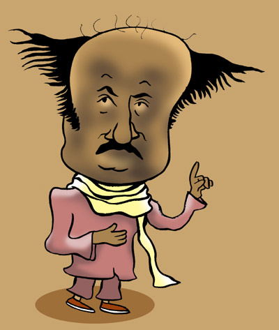 'The king of them all is an old, dark, balding Rajinikanth'