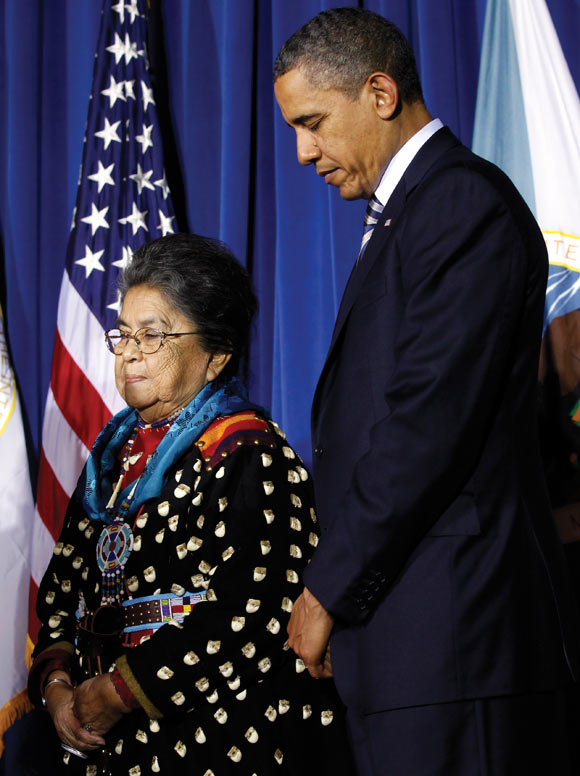 Barack Obama saluted his mother, grandmother, wife, in-laws and mentors in his Barnard College speech