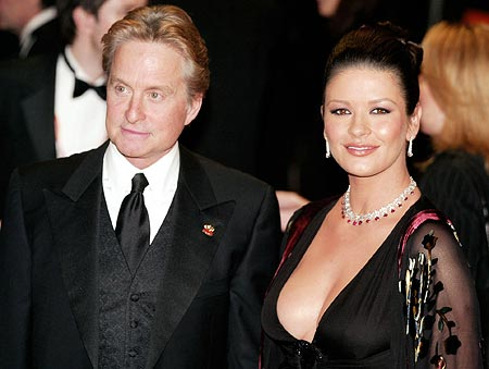 With a difference of 25 years between them, Catherine Zeta Jones and Michael Douglas are still going strong