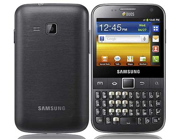 samsung touch and type android phones below 10000