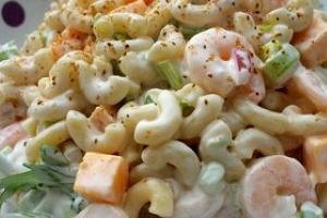 Macaroni and Shrimp Salad