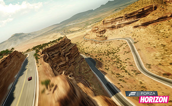 Microsoft takes on Sony on the racing track