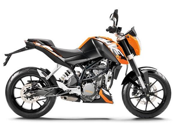 KTM-Bajaj Duke 390