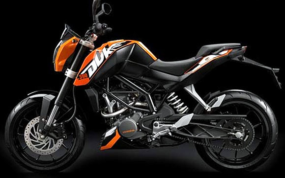 DON'T MISS: The stunning KTM-Bajaj Duke 390