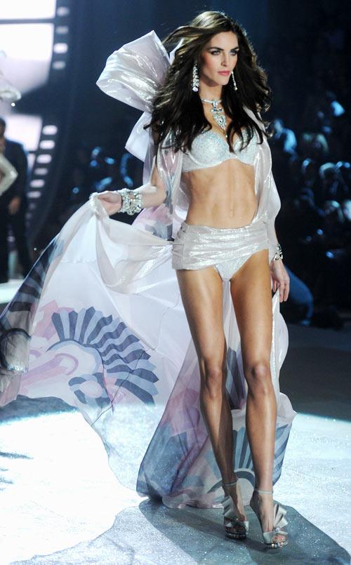 Hilary Rhoda for Victoria's Secret