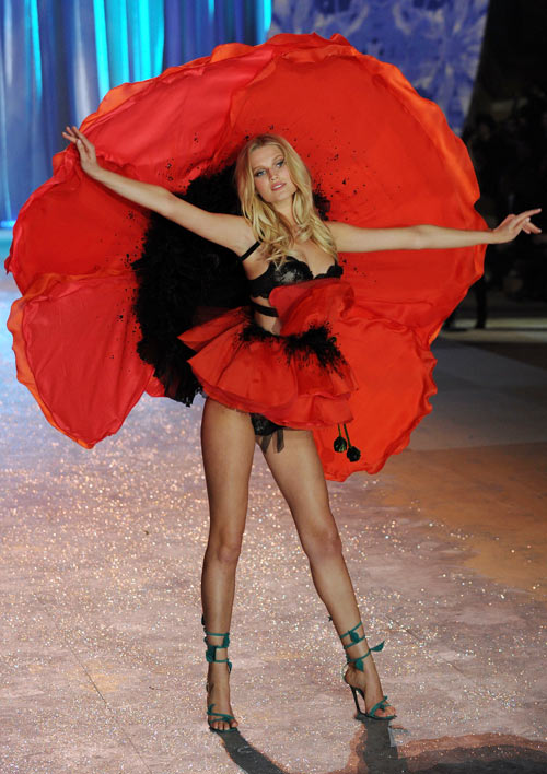 Toni Garrn for Victoria's Secret
