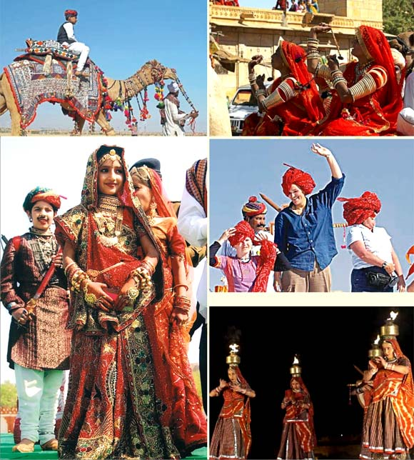 Desert Festival in Jaisalmer