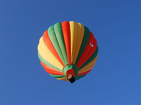 Hot air balloon ride in New Delhi