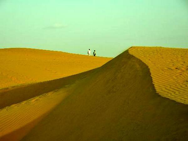 Sand dunes of Sam