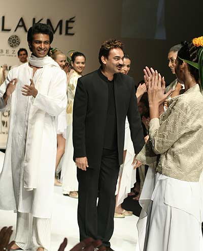 Wendell Rodricks at Lakme Fashion Week, Mumbai