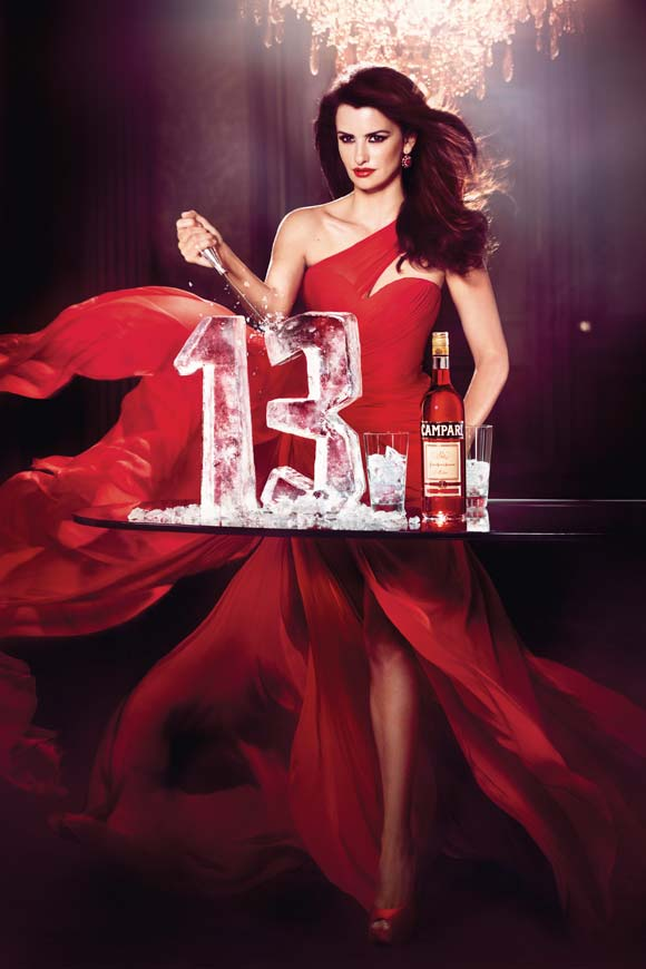 Penelope Cruz for Campari