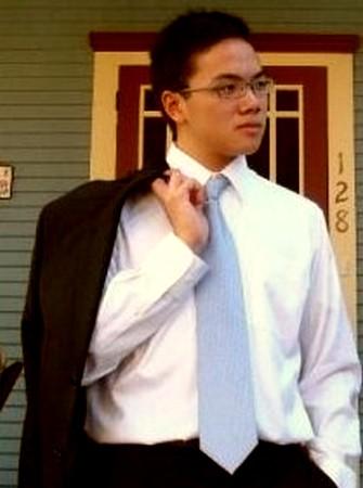 Watch that tie